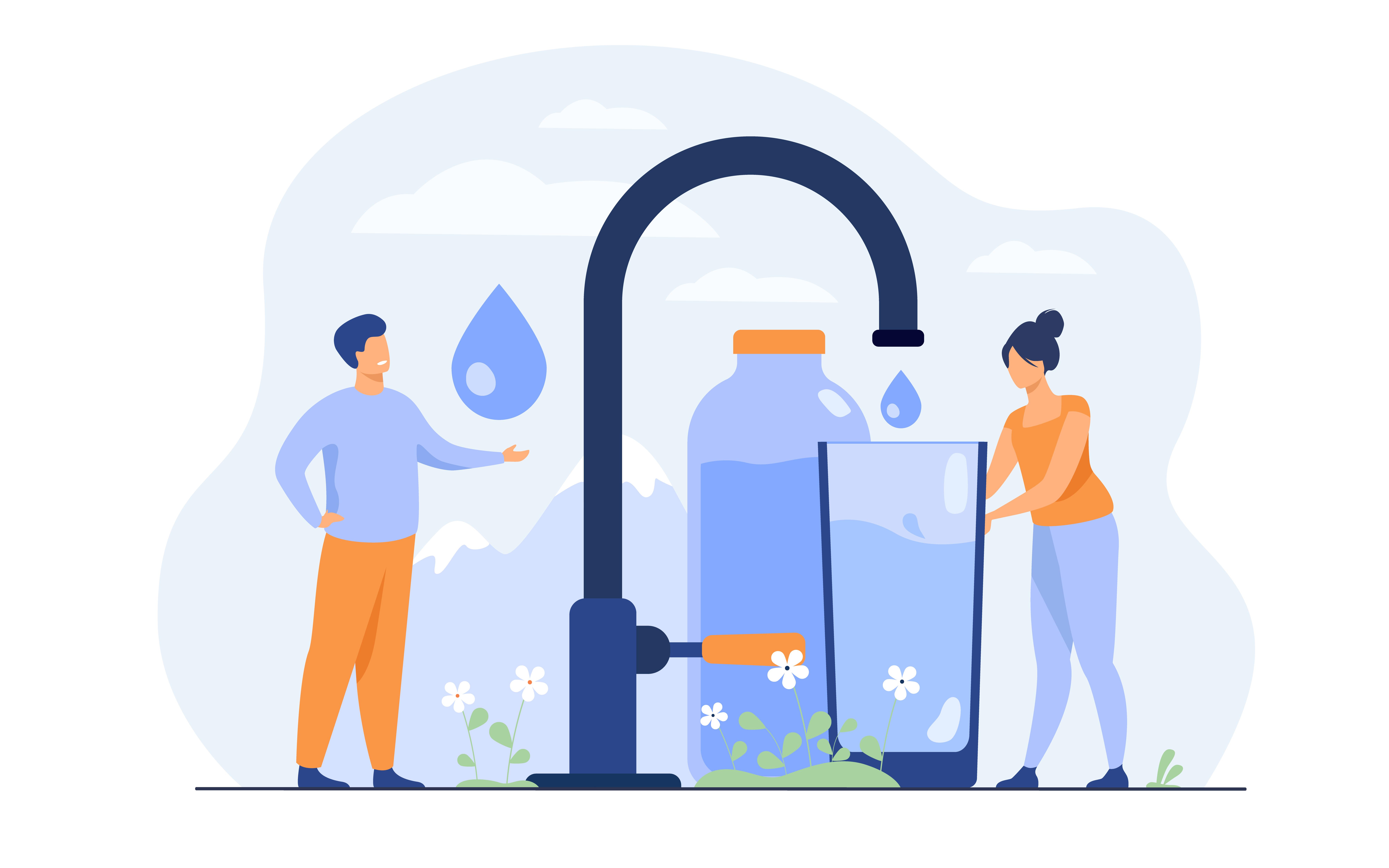 Zuiver kraanwater in Nederland